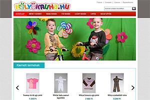 4e93a5de7a Kölyökruha gyermekruházati webáruház Fejlesztő: saját, magento cms  2012.05.03. 0 hozzászólás
